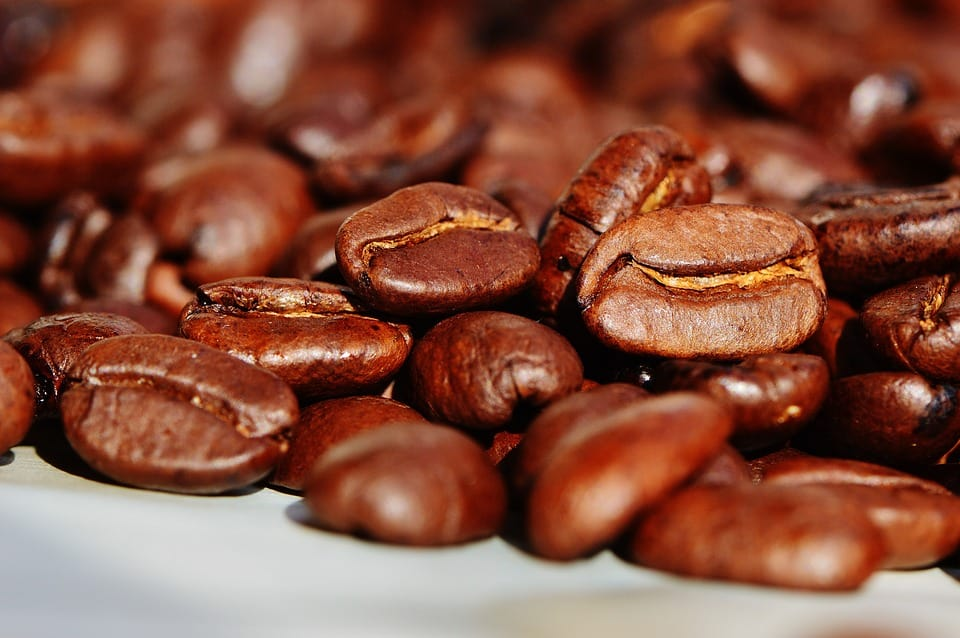 Natural cosmetics from black coffee  Coffee beans