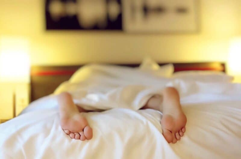Most common sleeping disorders  Person Lying on Bed Covering White Blanket