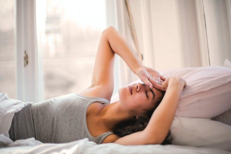 Most common sleeping disorders  Woman in Gray Tank Top Lying on Bed