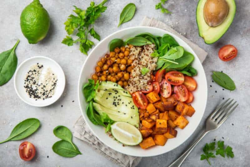 Vegan athlete meal plan