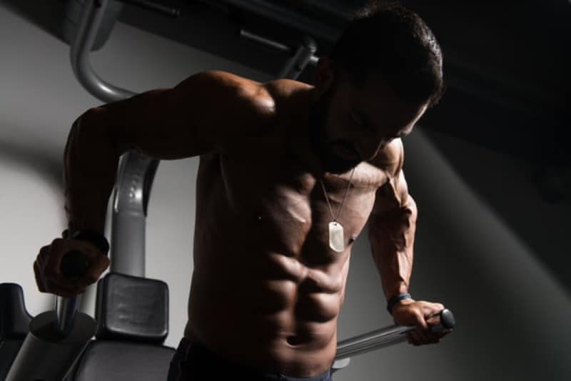 Chest and triceps workout for mass